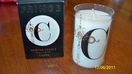 """FRINGE, Currant Scented Candle, Monogram """"C"""", NIB - $12.00"""