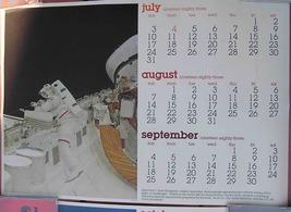 Nasa Challenger Astronaut F. Story Musgrave Calendar Poster 1983 Morton ... - $49.50