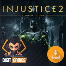 Injustice 2 Ultimate Edition - PC / Steam CD Key - Digital Game Download Code - $20.99