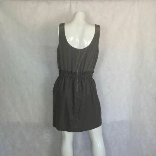 J Crew Dress Bubble Cocktail Party Prom embellished gray silk wool size 8 image 4
