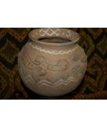 1980's Rare Older Hand Crafted Timor Vermasse Terracotta Pottery Pot Mot... - $85.49