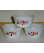 Vintage Fire-King Primrose 6 Oz. Custard / Dessert Cups - Anchor Hocking... - $10.00