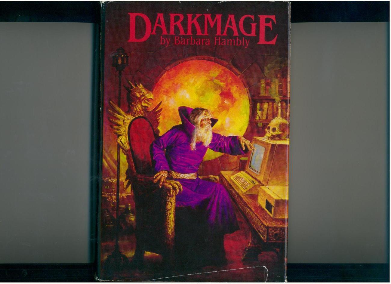 Hambly - DARKMAGE - 2 fantasy novels in 1 - 1980s