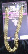 GOLD COLORED BIG DADDY BIG GOLD CHAIN LOTS OF BLING - $6.00