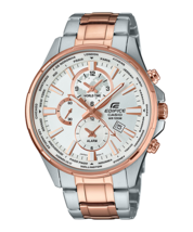 Casio Edifice Analog White Dial Men's Watch - EFR-304sg-7AVUDF - $145.20 CAD