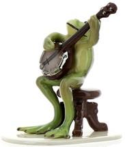 Hagen-Renaker Specialties Froggie Mountain Breakdown Bluegrass Frog Banjo   image 5