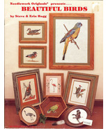 BEAUTIFUL BIRDS Cross Stitch 1981 Needlework Or... - $3.99
