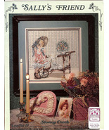 SALLY'S FRIEND Needlepoint Stoney Creek 19 Cros... - $1.99