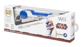 Official Nintendo and Star Wars Wii Clone Trooper Blaster [video game] - $17.01