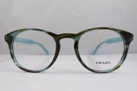 Prada VPR 19S UEN-1O1 Blue Havana New Authentic Eyeglasses 48mm - 174 - $89.74