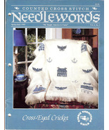 NEEDLEWORDS Magazine Spring 1988 Cross Stitch - $1.99