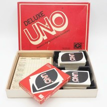 International Games Inc. Uno Deluxe Edition Card Game, 1978 Vtg - $19.79