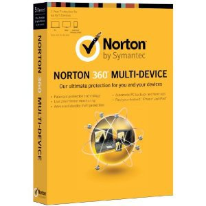 Symantec Norton 360 Multi-Device 2014 1 Year / 3 Devices PC Mac Android IOS