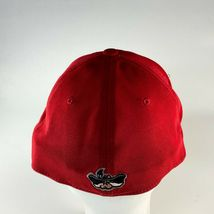 UNLV Rebels University Of Las Vegas 90s Hat Cap Fitted One Size Men Red Stretch image 3