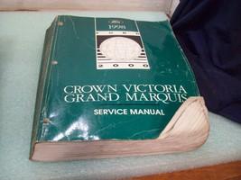 1998 Ford Crown Victoria Service Repair Manual BOOK OEM BA107 - $12.86