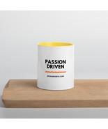 Divas-N-Rides Passion Driven Mug with Color Inside - $13.50