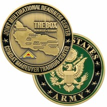 "ARMY  THE BOX HOHENFELS  GERMANY  CMTC 1.75""  CHALLENGE COIN - $17.14"