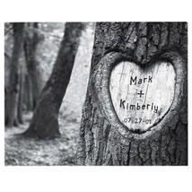 Engraved Tree of Love Print Canvas Picture Wedding Gifts - $59.88