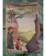1947 Richard Llewellyn HOW GREEN WAS MY VALLEY Pocket #462 Vintage Paper... - $15.00