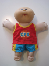 CABBAGE PATCH Kids Doll 1985 Coleco SS Brown Eyes Bold Original Clothes ... - $19.40
