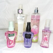 Lot of 5 Body Spray and Mist Fragrance Bath and Body Works - $27.07