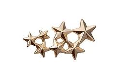 Knighthood Women's Golden Star Brooches Golden - $9.91