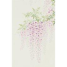 Tokyo Art Gallery ISHIHARA - Japanese Hanging Scroll - Kakejiku : Wisteria / ... - $615.78