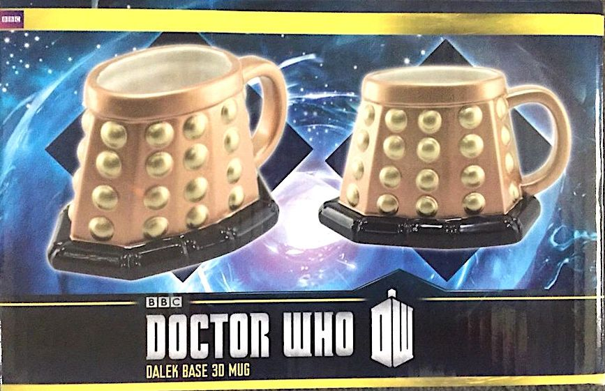 Licensed BBC Doctor Who Dalek Base 3D Mug Collectible! Must-Have For Serious Fan