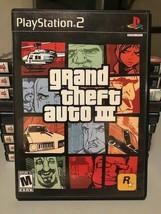 Grand Theft Auto III (PlayStation 2, 2001). - $4.58