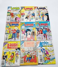 Laugh Digest Magazine Lot 9 Issues Comic  Archie Jughead Betty Veronica Reggie ⚡ - $25.00
