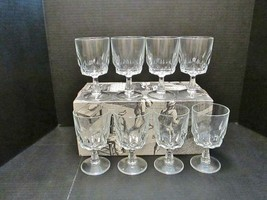 JG DURAND Prestige De France Stemmed Glass Wine Goblets Set of 8 in Orig... - $64.55