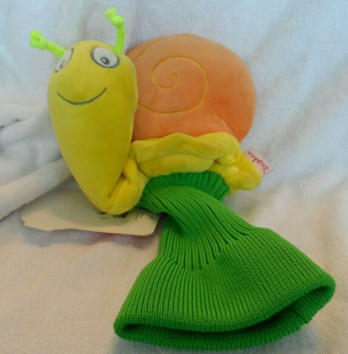 Primary image for bright orange, yellow and green snail GOLF Club COVER by Daphne's