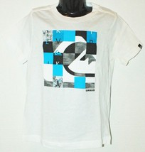 Quiksilver Logo Brand - Kids Tshirt Apparel White Shirt Youth Size 4 - $3.66