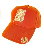 Vintage Home Depot Racing Tony Stewart 20 Orange Baseball Hat Cap Adjust... - $49.49