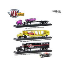 Auto Haulers Release 20 B, 3 Trucks Set 1/64 Diecast Models by M2 Machin... - $75.60