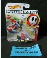 Hot Wheels Mario Kart Shy Guy standard kart character die cast vehicle M... - $33.24