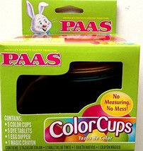 PAAS Color Cups Easter Egg Coloring Kit - $161,71 MXN