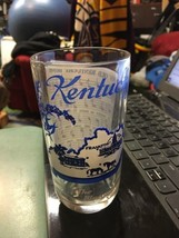 "Kentucky 5.25"" Vintage State Song Glass Tumbler My Old Kentucky HOme  - $19.99"