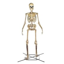 Home Accents 12 ft. Giant-Sized Skeleton with LifeEyes image 1