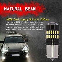 TUINCYN 1156 LED Bulbs White Brake Light BA15S 1141 1095 7506 1156A P21W 4014-48 image 4