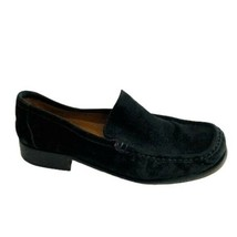 Coach Vance Loafers black suede womens 9 - $38.61
