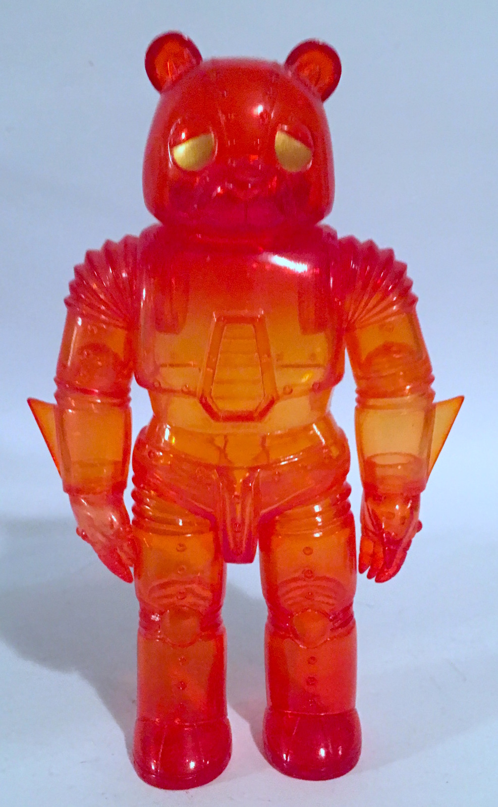 Robot Bear CLEAR RED/ORANGE Kaiju for GrownUps