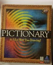 New Sealed Pictionary PC Windows 95 CD-ROM Hasbro Word Trivia Game BIG BOX 1997 - $8.05