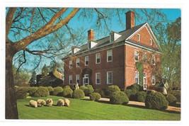 VA Williamsburg Colonial Berkeley Plantation Vintage H S Crocker Postcard - $2.99