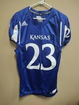 Adidas New University of Kansas Jayhawks Football Jersey #23 Size Large 7506A - $19.00