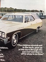 Print Ad Vtg 1967 Advertising GM Buick Station Wagon - $9.89