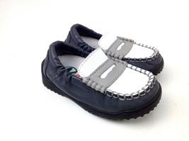 Naturino Baby Boys' 2679 Loafer Grey/White , Size EUR 19 - $32.66