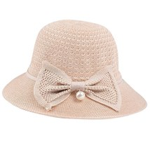Sun Hats For Women Casual Sunscreen Solid Wide Breathable Brimmed Floppy Foldabl image 2