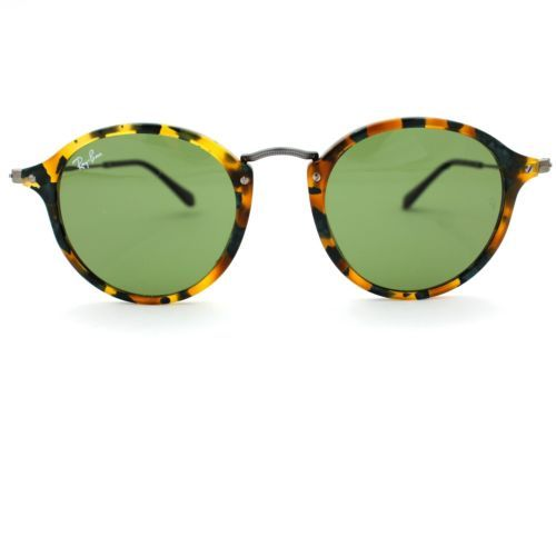 b011d5ff48f6 Ray-Ban Sunglasses ROUND FLECK with Green and 50 similar items