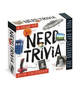 A Year of Nerd Trivia Page-A-Day Calendar 2019 - $14.54